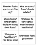 Meet Rosina Question Cards
