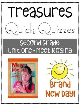 Meet Rosina Quiz - Treasures Grade 2