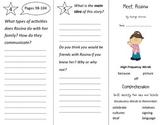 Meet Rosina Trifold - Treasures 2nd Grade Unit 1 Week 4 (2009)