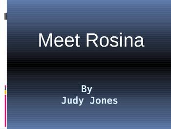 Meet Rosina Vocabulary