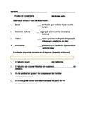Meet Rosina Vocabulary Tests and  more / Spanish