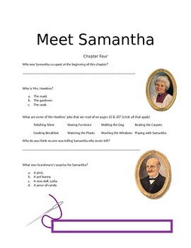Meet Samantha Questionaire