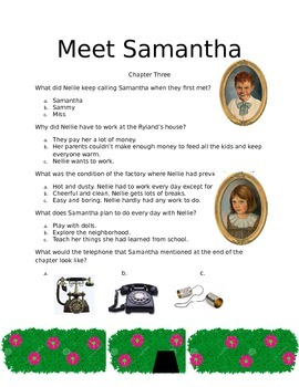 Meet Samantha Questionaire