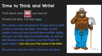 Meet Smokey the Bear & Wildfires