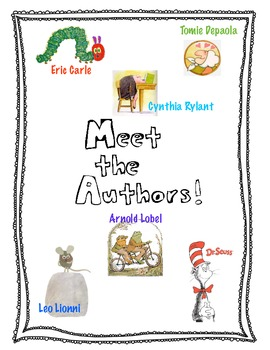 Meet The Author Book