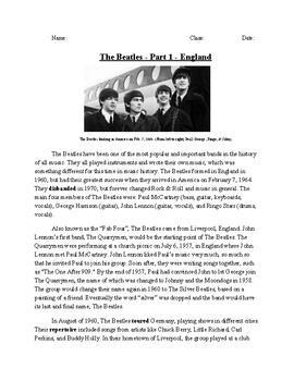 Meet The Beatles - Part I