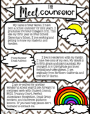 Meet The Counselor (Editable)
