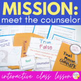 Meet The Counselor Interactive Guidance Lesson Mission Mee