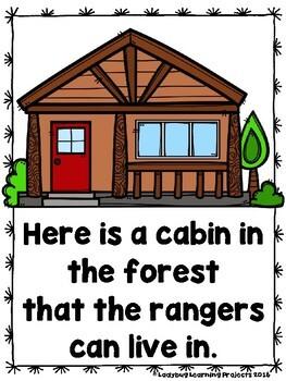 Meet The Forest Rangers (A Sight Word Emergent Reader and Teacher Lap Book)