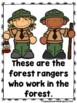 Meet The Forest Rangers (A Sight Word Emergent Reader)