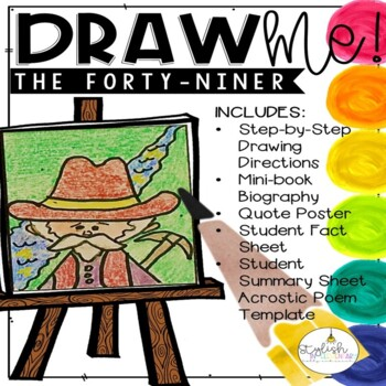 Draw Me! The Forty-Niner Directed Drawing (CKLA, Core Knowledge)