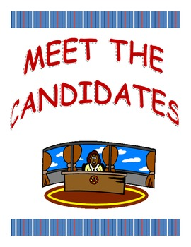 Meet The Presidential Candidates:  2012 Election Packet