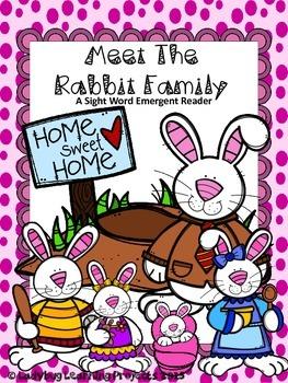 Meet The Rabbit Family (A Sight Word Emergent Reader)