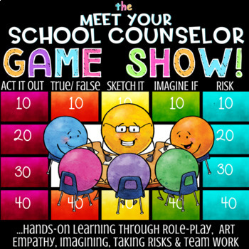 Meet The School Counselor Lesson *Fun School Counseling Introduction Game
