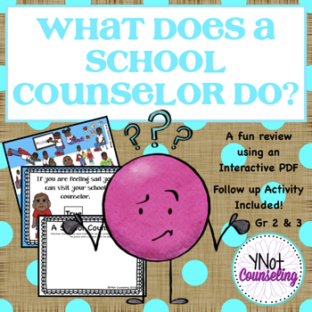 Meet The School Counselor: What Does The School Counselor Do?