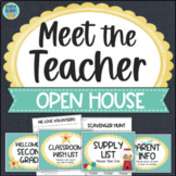 Meet The Teacher Night Stations, Forms, Signs, Activities Open House