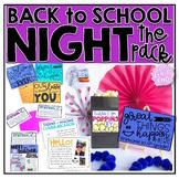 Back to School Night Pack {Meet the Teacher}