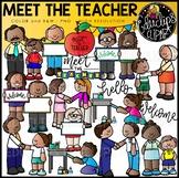 Meet The Teacher Clip Art Set {Educlips Clipart}