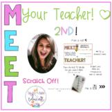 Meet The Teacher Distance Learning (Second Grade)