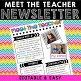 Meet The Teacher Newsletter - Neon Dots