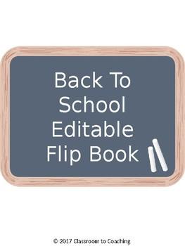 Meet The Teacher Flipbook
