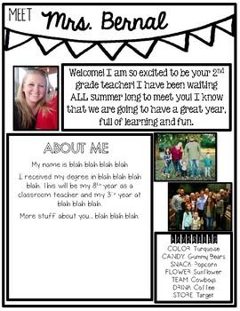 Meet The Teacher Introduction