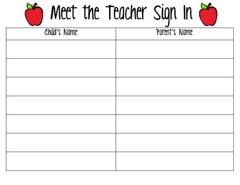 Meet The Teacher- Kit