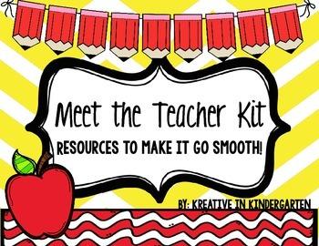 Meet The Teacher- Kit