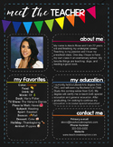 Meet The Teacher Newsletter