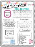 Meet The Teacher Night