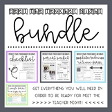Meet The Teacher Night: BUNDLE