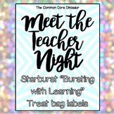 "Meet The Teacher Night - Starburst ""Bursting with Learning"