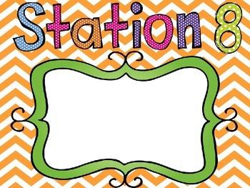 Meet The Teacher Night Stations (Editable Powerpoint)