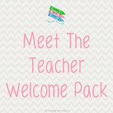 Meet The Teacher Night Welcome Pack