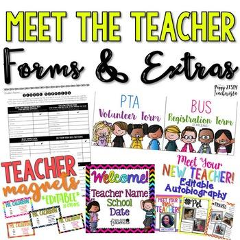 Meet The Teacher / Open House Bundle
