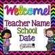 Meet The Teacher / Open House Bundle