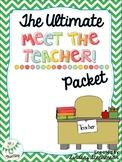 Meet The Teacher Packet