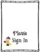 Meet The Teacher Sign In Form Freebie