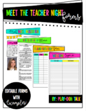 Meet The Teacher Signs & Forms Bundle!