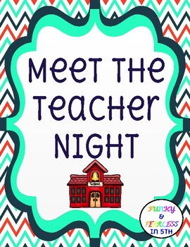 Meet The Teacher Stations