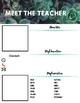 Meet The Teacher - Succulents