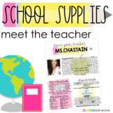 Meet The Teacher - Welcome Letter: Back to School