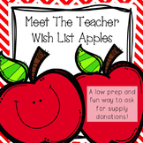 Meet The Teacher Wish List Apples