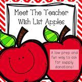 Meet The Teacher Wish List Apples