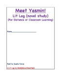 Meet Yasmin! Lit Log (novel study)