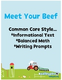 Meet Your Beef  Close Reading PRINT & GO!