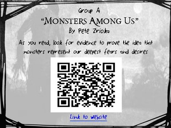 Meet Your Monster: An Introductory Lesson for A Monster Calls by Patrick Ness