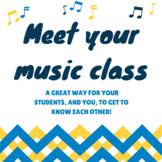 Meet Your Music Class