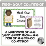 Meet Your School Counselor: Google Slide lesson on the rol