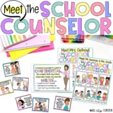 Meet, Introduction to the School Counselor PK-2 Lesson & Bilingual Coloring Book